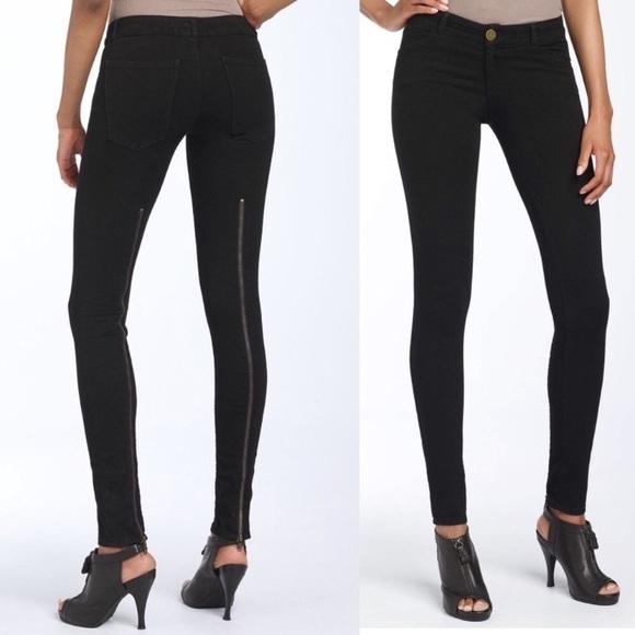 Current/Elliott Denim - Current Elliot Back Zip Skinny Jean legging
